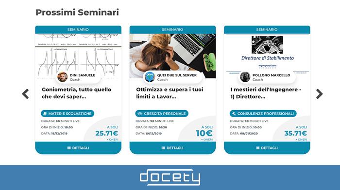 Seminario su Docety: la mia opinione sulla nuova piattaforma di e-learning